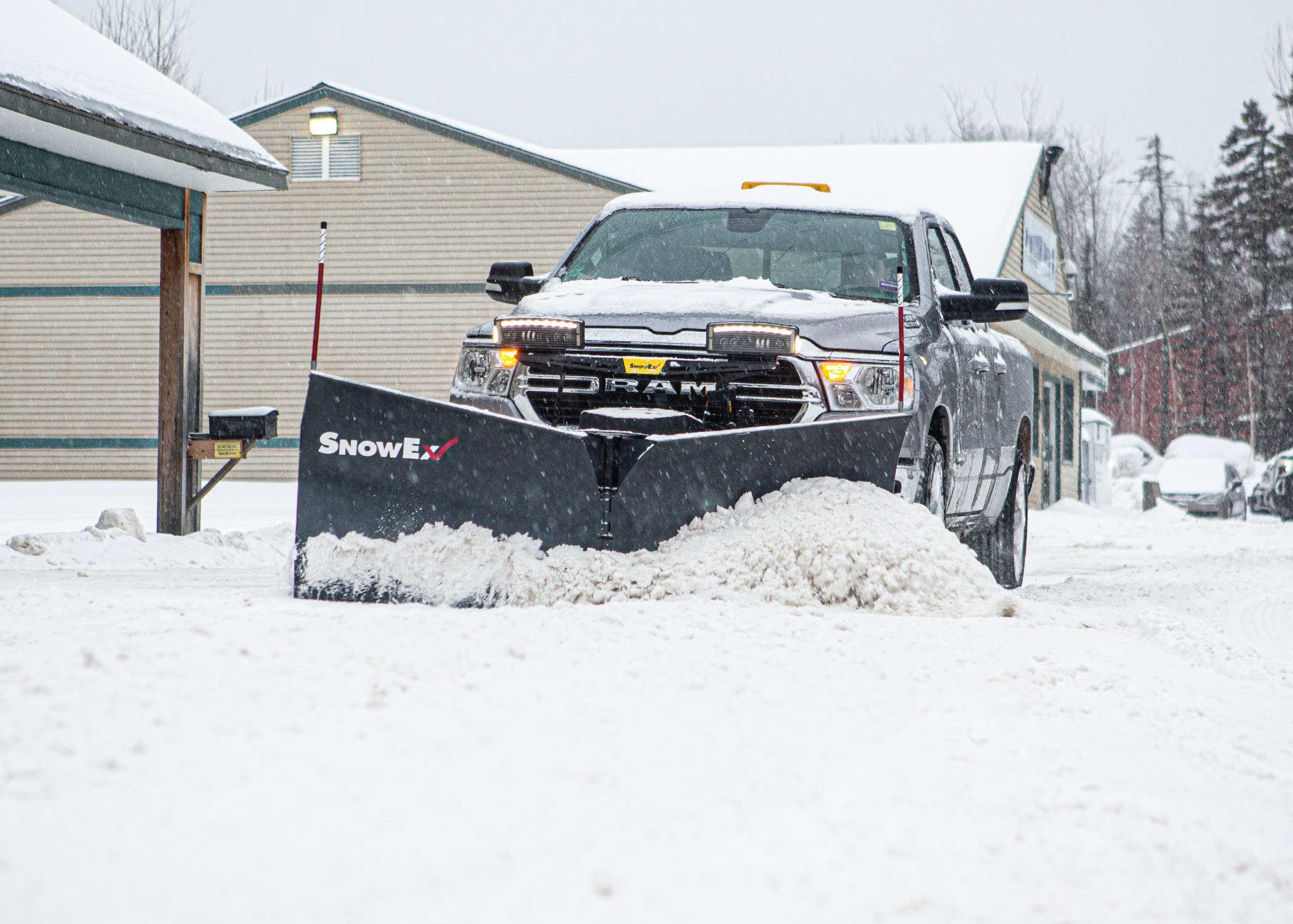 SnowEx® Launches Fully Featured V-Plow for Half-Ton Trucks