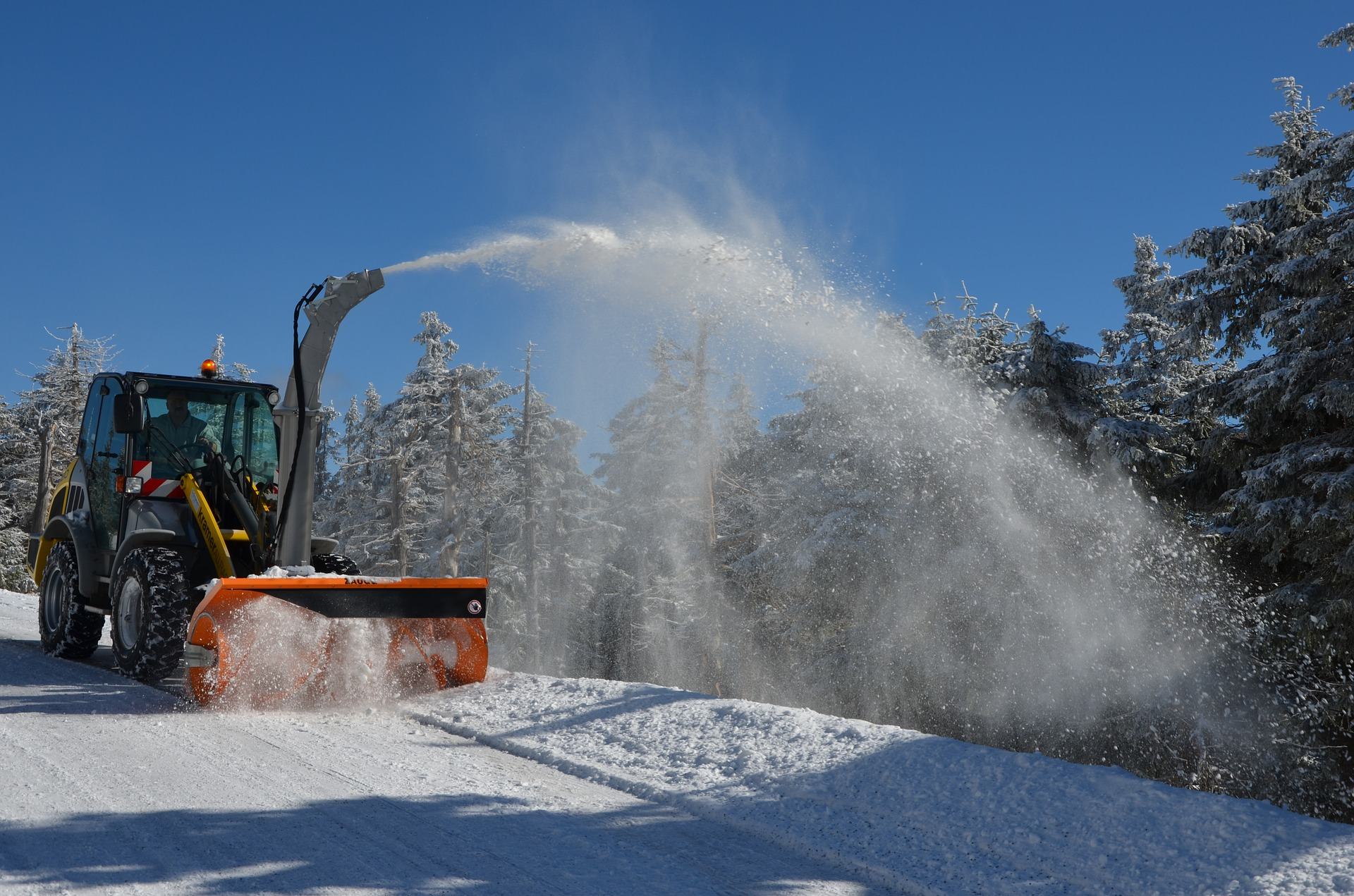 New SnowEx® POWER PUSHER™ TE Snow Pushers  Feature Steel Trip-Edges