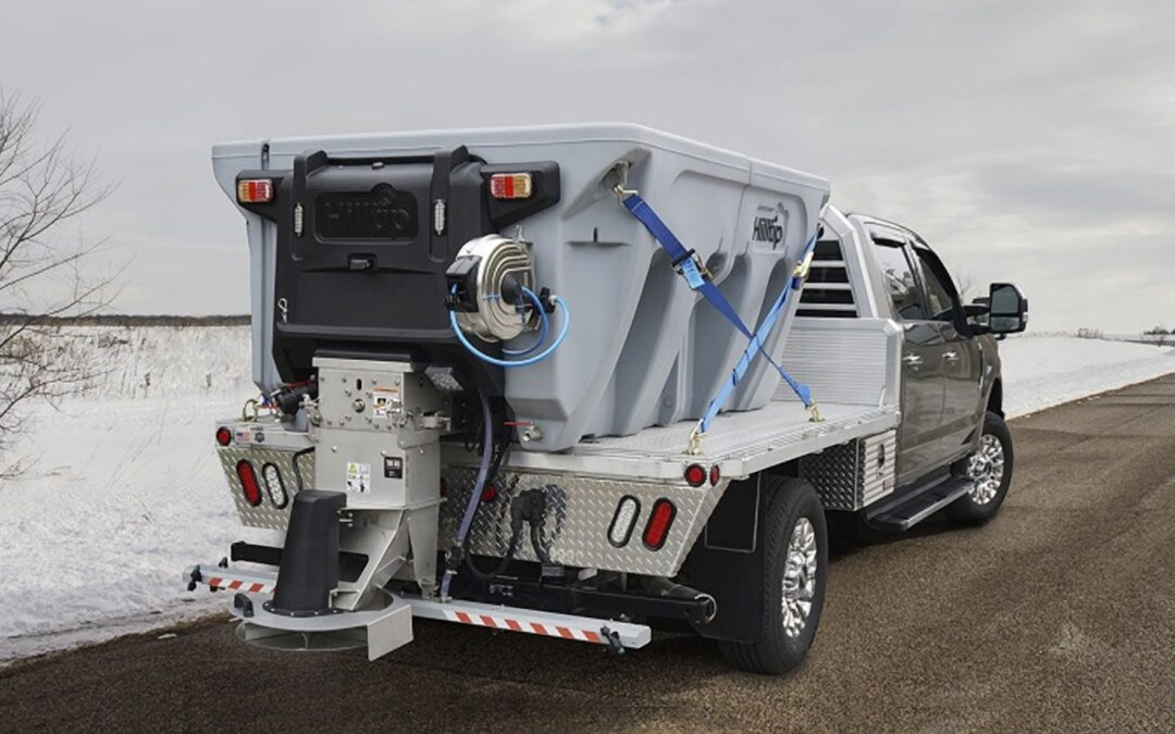 Hilltip Introduces IceStriker™ 1200-4200AM Combi Spreaders